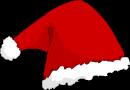Imagem do barrete do Pai Natal