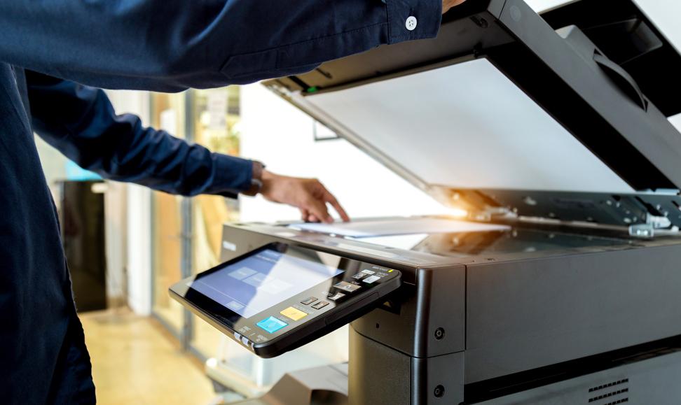 Impressora_renting de equipamento de impressão
