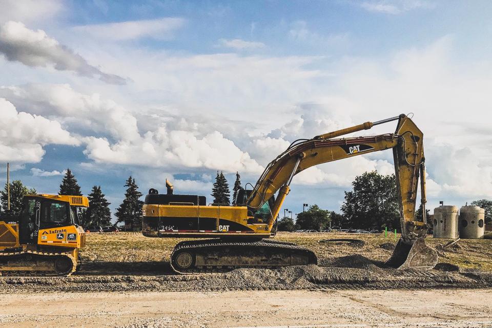 Renting de equipamentos para construção civil