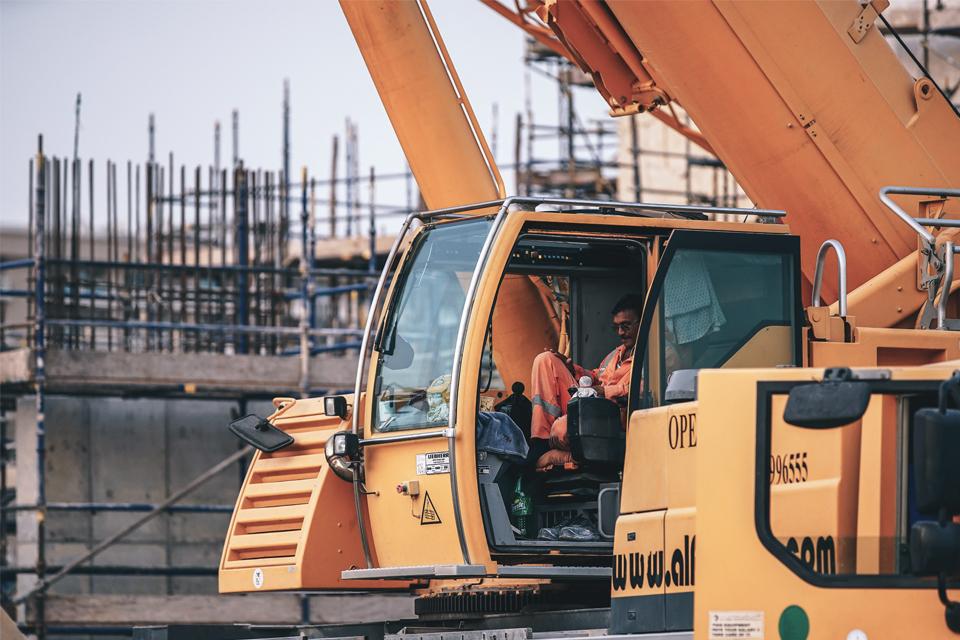 renting de equipamento para construção