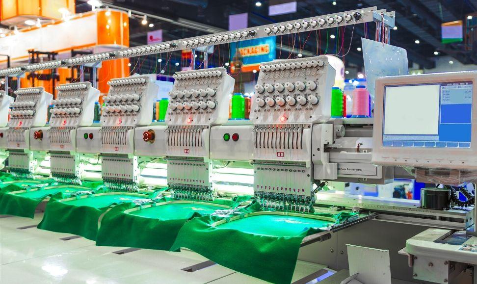 renting de equipamento textil